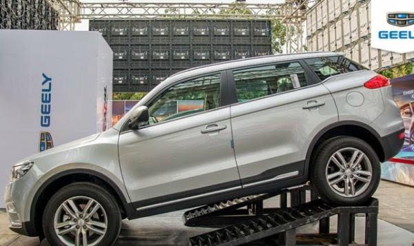 Mikano Launches Geely Emgrand 7 & X7-Sport Into Nigerian Market - autojosh
