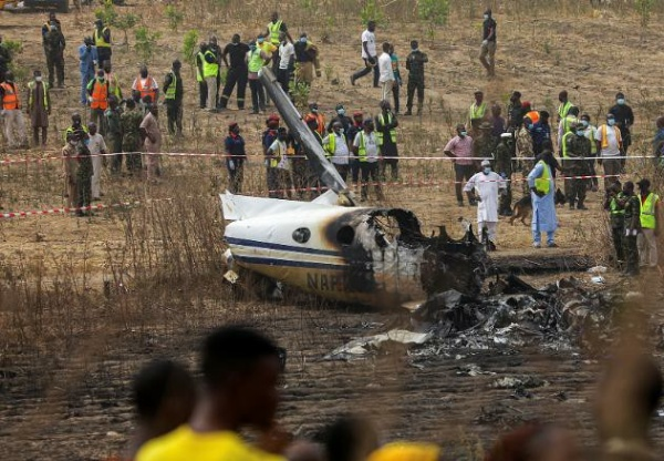 All Seven Personnel Dies After Nigerian Air Force Military Aircraft Crashed In Abuja - autojosh