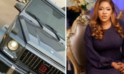 Nollywood Actress Toyin Abraham Acquires Mercedes G-Wagon SUV - autojosh