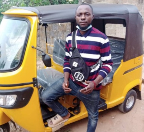 Okada Rider Gets Tricycle Gift From A Man He Carries To Campus For Free And On Credit - autojosh