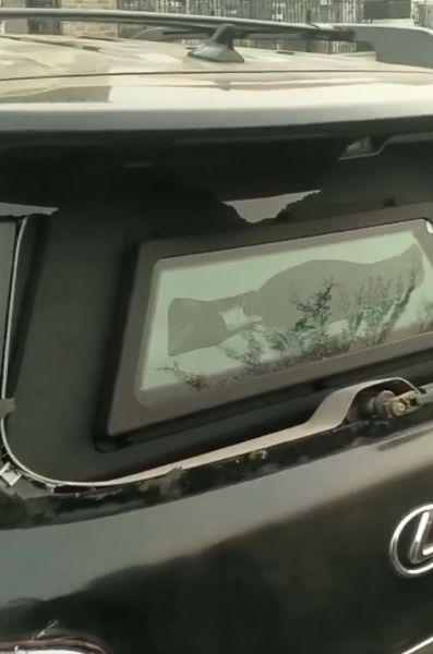 Rochas Okorocha Shows His Damaged Vehicles, Including Bullet-riddled Armoured Lexus LX 570 SUV - autojosh