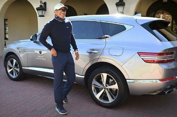 Genesis Ambassador Tiger Woods Was Driving GV80 SUV During Rollover Car Crash - autojosh