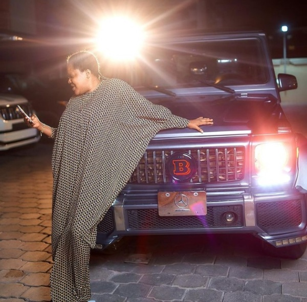 Toyin Abraham's Actor Husband Ajeyemi Congratulates Wife On Her New Mercedes G-Wagon, Showers Praises - autojosh