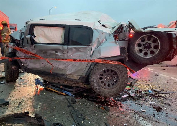 Toyota Gives 4Runner SUV To Heroic Paramedic Whose FJ Cruiser Got Crushed In Texas 133-Car Pile Up - autojosh