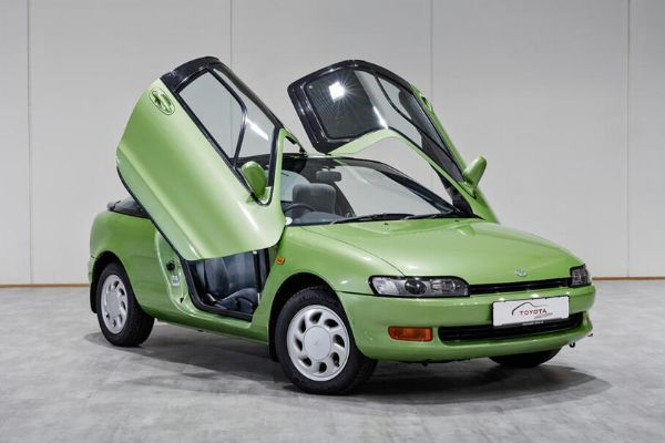 This Butterfly-Doored Toyota Sera Of The 90s Inspired The McLaren F1 Supercar - autojosh
