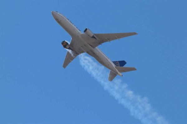 UK Bans Boeing Planes With Same Engines As United Airlines' Aircraft That Burst Into Flames After Takeoff - autojosh