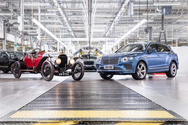 The 200,000th Bentley Car, A Bentayga SUV, Just Rolled Off The Assembly Line - autojosh