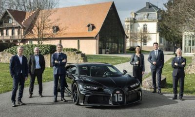 Bugatti Sets Record First Quarter, 50 Chirons Still Available For Order - autojosh