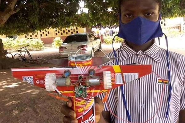 Ghanaian Kid Builds Flying Aeroplane Toy - autojosh