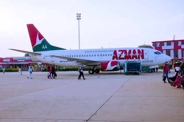 Azman Air owes the NCAA the sum of N1,545,262,120.31 service charges