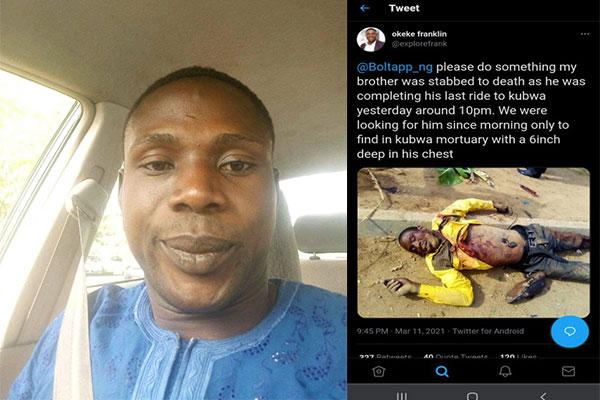 Bolt Driver Stabbed To Death In Abuja - autojosh