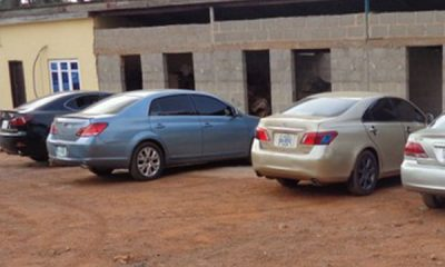 EFCC Arrests 29 Yahoo Boys In Awka, Cars Recovered Includes 4 Lexus, Mercedes, Toyota - autojosh