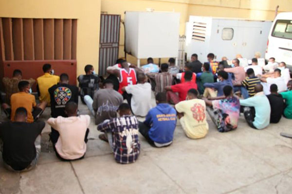 EFCC Arrests 37 Internet Fraud Suspects, Confiscates Score Of Vehicles, Laptops, Sophisticated Phones In Ado Ekiti (PHOTOS)