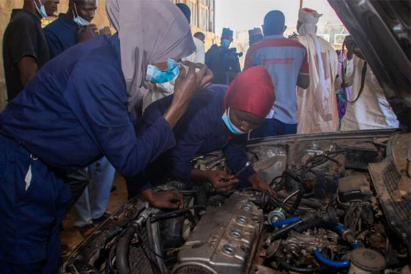 NADDC Commissions First Female Mechanic Workshop In Sokoto (PHOTOS)