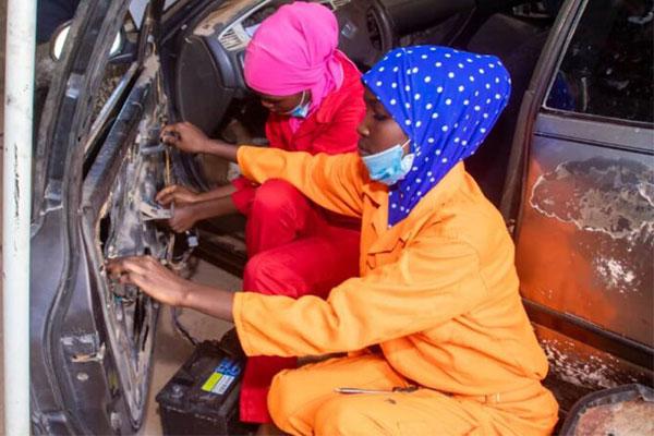 NADDC Commissions First Female Mechanic Workshop In Sokoto - autojosh