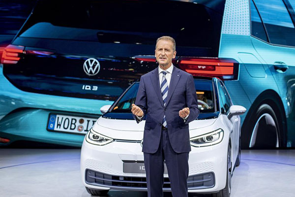 For Now, We Want To Get Close To Tesla Before Overtaking Them : Volkswagen Group CEO - autojosh