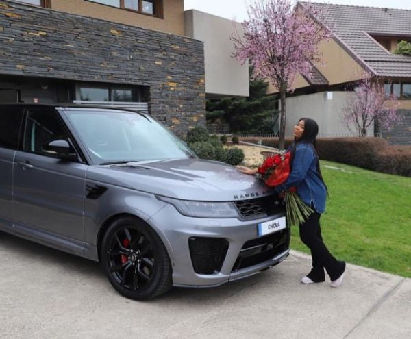 Kenneth Omeruo Gifts Wife Chioma, Range Rover Sport As Birthday Gift - autojosh
