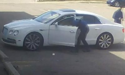 Man Who Stole $200k Bentley Arrested Because He Didn't Wear His Facemask Properly - autojosh
