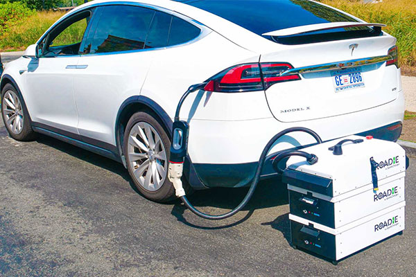 SparkCharge Introduces Roadie Charging System To Charge EV That Runs Out Of Battery Juice - autojosh