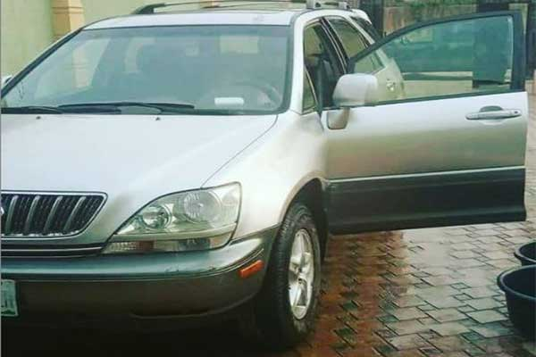 Actress Blessing Ebigieson Gifts Younger Brother A Lexus RX300