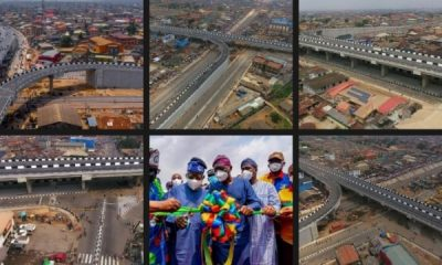 Ambode Left Agege-Pen Cinema Bridge At 20% Completion - Sanwo-Olu - autojosh