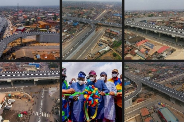 Ambode Left Agege-Pen Cinema Bridge At 20% Completion - Sanwo-Olu - autojosh