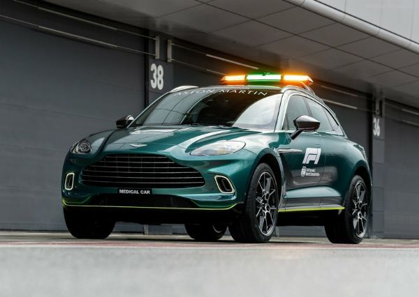 Aston Martin Vantage And DBX Partners With Mercedes Cars As This Year's F1's Safety And Medical Cars - autojosh