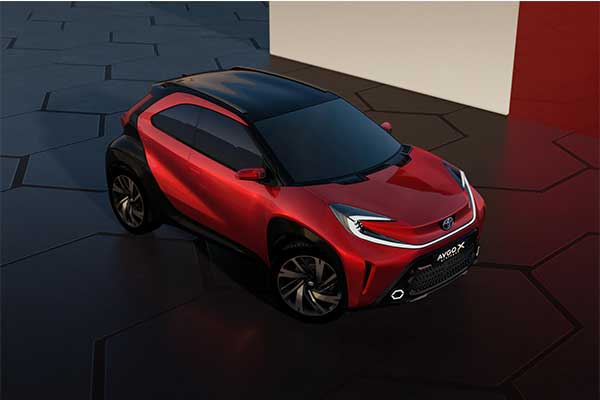 Toyota Unveils Aygo X Prologue And It's Tiny Rugged Crossover