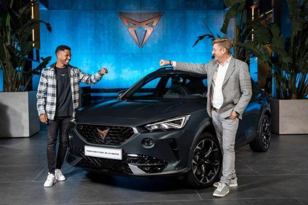 "Barcelona Star Ansu Fati Gets Cupra SUV, But Can't Drive ""Sponsor Car"" Yet Cos He Has No Drivers License - autojosh"