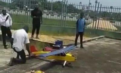 Young Bayelsan Student Wows Nigerians As His RC Aeroplane Takes To The Sky - autojosh