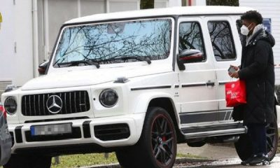 Bayern Star Coman Face N22m Fine After Driving Mercedes G-Wagon To Training Instead Of Audi Sponsor Car - autojosh