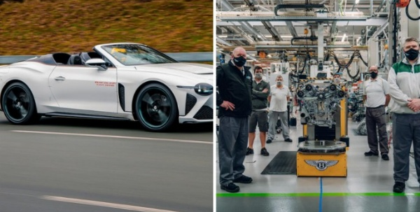 Bentley Shows Off W12 Engine That Will Power Its Most Expensive Car, The $2 Million Bacalar - autojosh