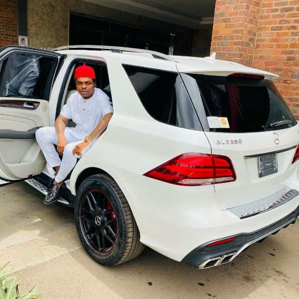 Bitcoin Lord B Lord Flaunts New Mercedes GLE 350 5-mths After EFCC Seized 2 Benz And A Lexus From Him -autojosh