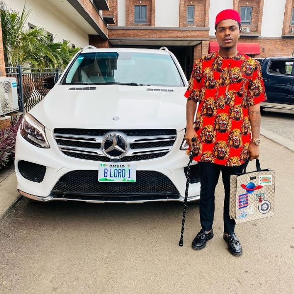 Bitcoin Lord B Lord Flaunts New Mercedes GLE 350 5-mths After EFCC Seized 2 Benz And A Lexus From Him --autojosh