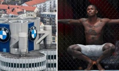 BMW Drops Nigerian UFC Star Israel Adesanya As Ambassador Over Rape Comments - autojosh