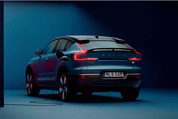 Volvo Launches Its All Electric C40 Recharge Coupe SUV With A 210 Mile Range