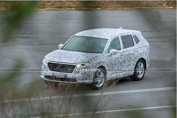 2023 Honda CR-V Leaked Testing Heavily Camouflaged In Europe