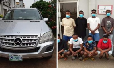 EFCC Arrests 10 Yahoo Boys In Ondo, Recover 8 Luxury Cars - autojosh