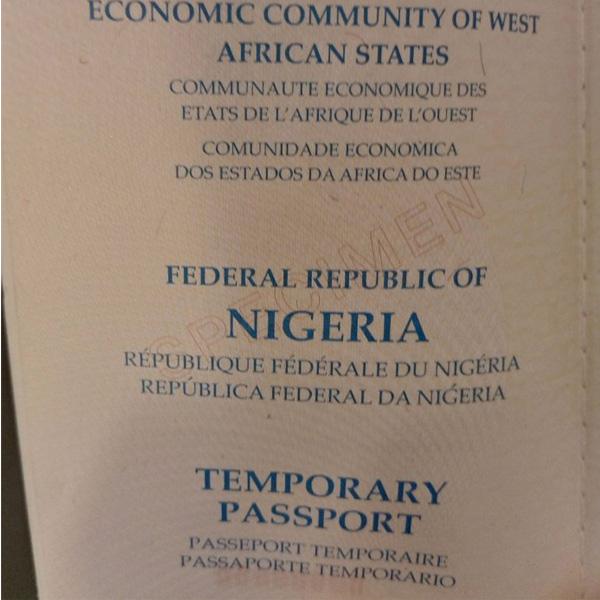 Temporary Passports