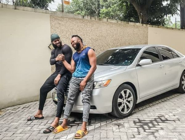 Singer Flavour Surprises Childhood Friend With A Toyota Camry Car Gift - autojosh