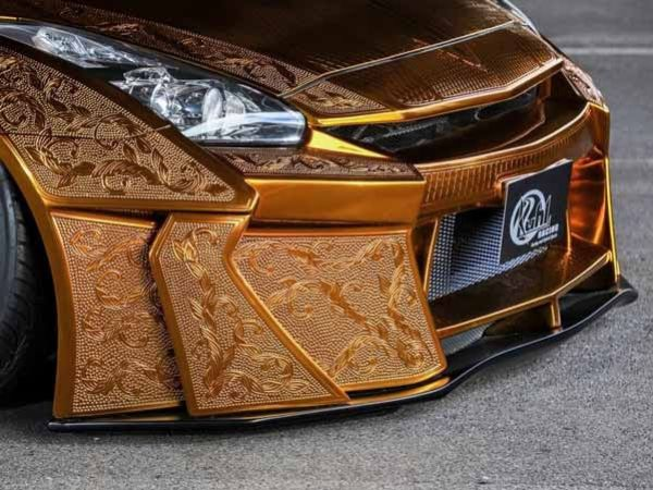 This Gold-plated 900-hp Nissan GT-R 'Godzilla' Could Be Yours For N166 Million - autojosh
