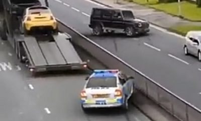 Video Of Insane Mercedes G-Wagon Escaping Police Car Has Attracted Attention Online. Is It Real Or Fake - autojosh