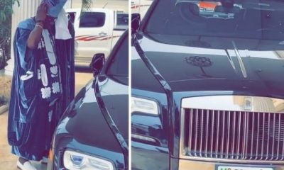 K1 De Ultimate Stepping Out In Style In His ₦200m Rolls-Royce Ghost - autojosh