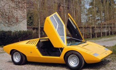 Lamborghini Countach LP500 Turns 50 Today, The Story Of First Car With Scissors Door - autojosh