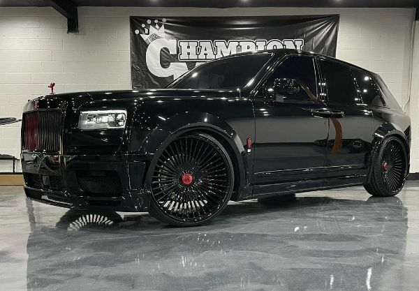 19 Yr Old NBA Star LaMelo Ball Takes Delivery Of The Most Wicked Rolls-Royce Cullinan Ever - autojosh