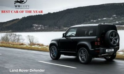 Land Rover Defender Wins 2021 WWCOTY Women's World Car Of The Year Trophy - autojosh