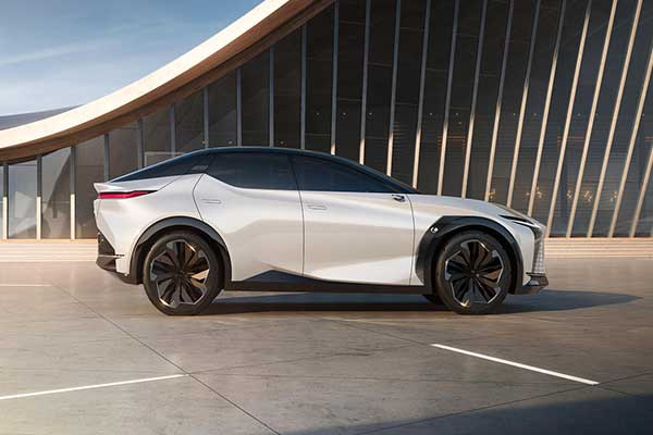Lexus LF-Z Electric SUV Concept Has Been Unveiled And Its Loaded With Tech