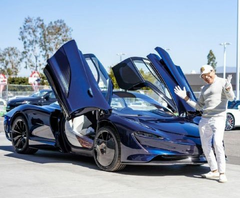 King Of One-offs, Manny Khoshbin, Shows Off His Unique McLaren Speedtail Hermes Edition - autojosh