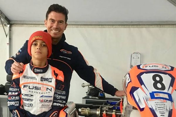 McLaren Sign Long-term Deal With 13-year-old American Karting Ace Ugo Ugochukwu