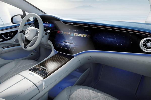 Mercedes Shows Off Impressive 56-Inch Hyperscreen Inside 2022 EQS All-electric Luxury Sedan - autojosh